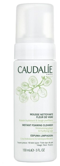 Caudalie мусс очищающий Fleur De Vigne