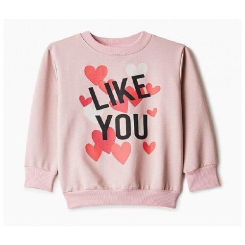Свитшот Elaria размер 110, розовый свитшот sweet berry размер 110 бледно розовый