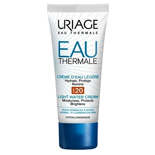 Uriage Eau Thermale Light Water Cream SPF20 Крем увлажняющий для лица, 40 мл uriage light water cream