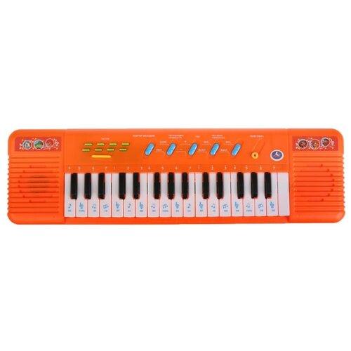 Купить Умка пианино B1439819-R красный, Детские музыкальные инструменты