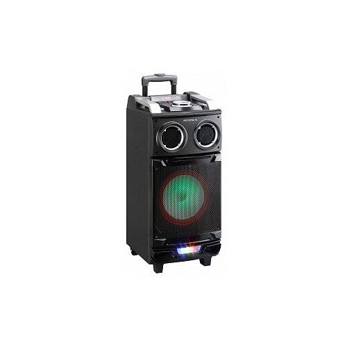 Портативная миди-система SUPRA SMB-880 с Bluetooth, радио, караоке, с LED подсветкой, 850 Вт