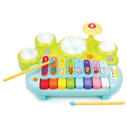 Развивающая игрушка Жирафики Музыкант голубой/зеленый