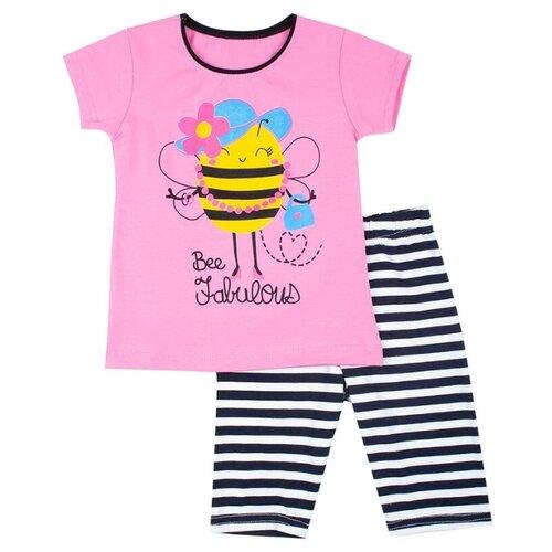 Комплект одежды M&D размер 98, светло-розовый, Комплекты и форма  - купить со скидкой