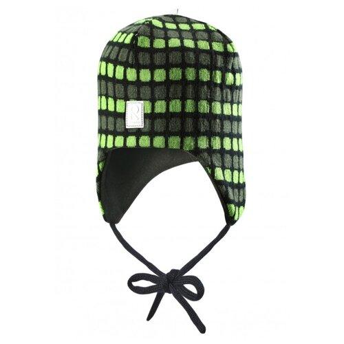 Шапка Reima размер 46, зеленый, Головные уборы  - купить со скидкой