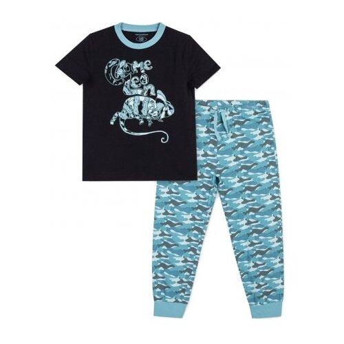 Пижама COCCODRILLO размер 92, синий/голубой пижама coccodrillo размер 104 голубой синий