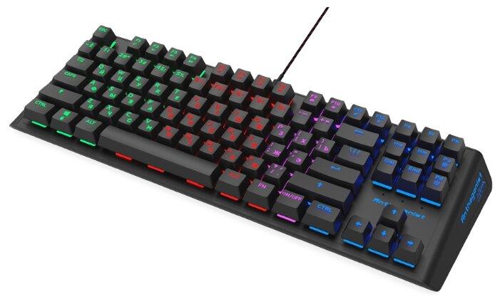 Игровая клавиатура Ritmix RKB-500 Black USB — купить по выгодной цене на Яндекс.Маркете