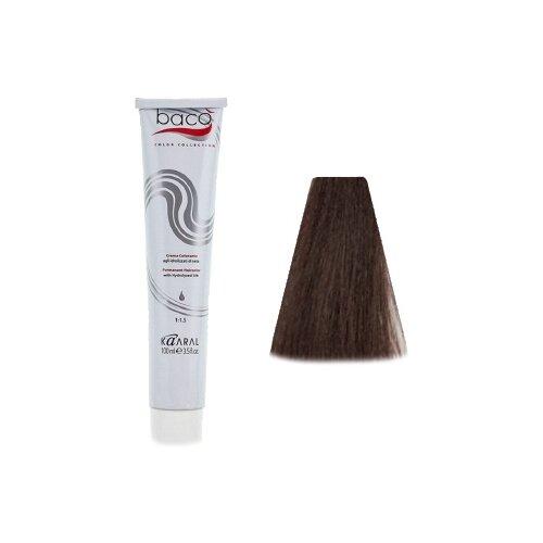 Купить Kaaral Baco Color крем-краска для волос, 6.38 темный блондин золотисто-коричневый, 100 мл