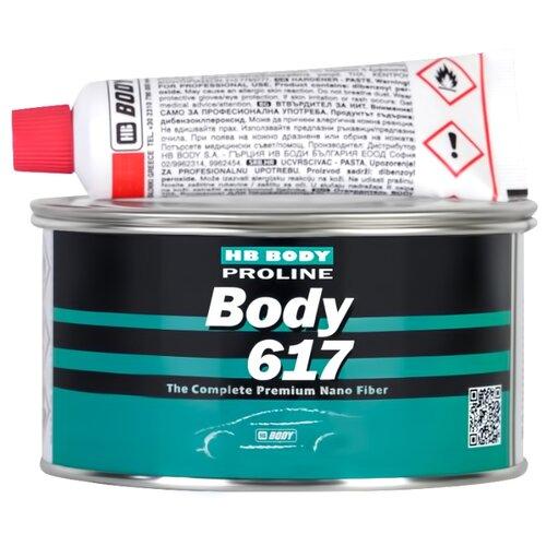 цена на Комплект (шпатлевка, отвердитель) HB BODY Proline 617 1.8 кг
