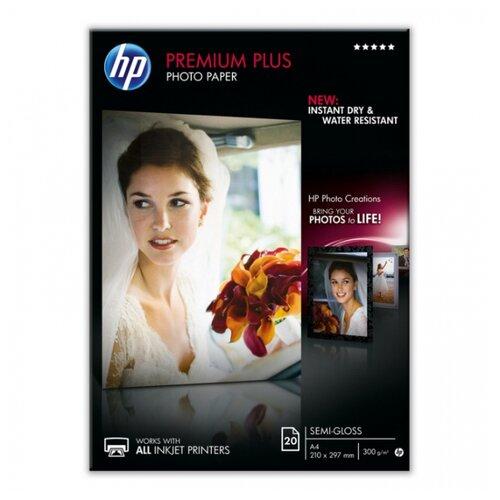 Бумага HP A4 CR673A 300 г/м² 20 лист. белый 1 шт. hp бумага q8005a