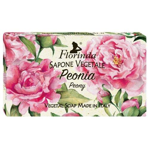 Мыло кусковое Florinda Цветы и Цветы Пион, 100 г