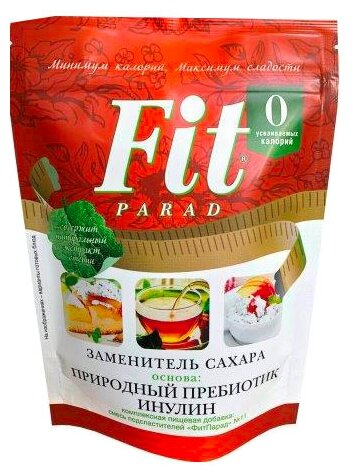 Fit Parad сахарозаменитель №11 с пребиотиком порошок
