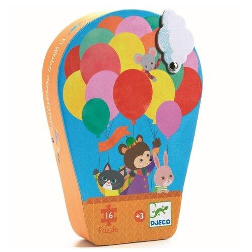 Купить Пазл DJECO Воздушный шар (07270), 16 дет., Пазлы