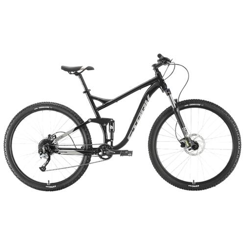 Горный (MTB) велосипед STARK Tactic 29.5 HD FS (2020) черный/серебристый 20 (требует финальной сборки)