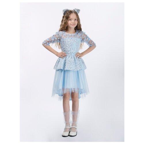 Купить Платье Смена размер 164/84, голубой, Платья и сарафаны