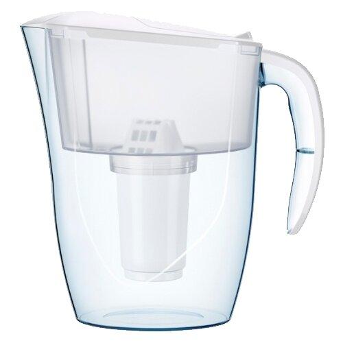 Фильтр кувшин Аквафор Смайл 1.4 л белый кувшин аквафор аквамарин p81а5f цикламеновый