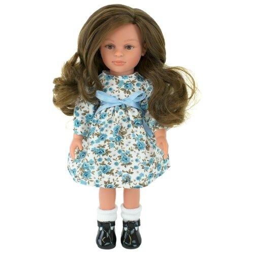 Купить Кукла Lamagik Нина темноволосая в платье с цветами 33 см, 33103, Куклы и пупсы
