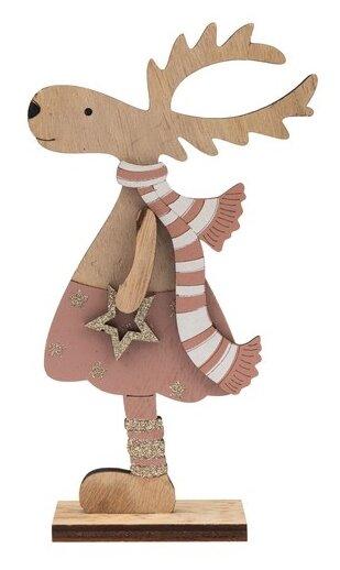 Фигурка NEON-NIGHT Рождественский олень 18 см