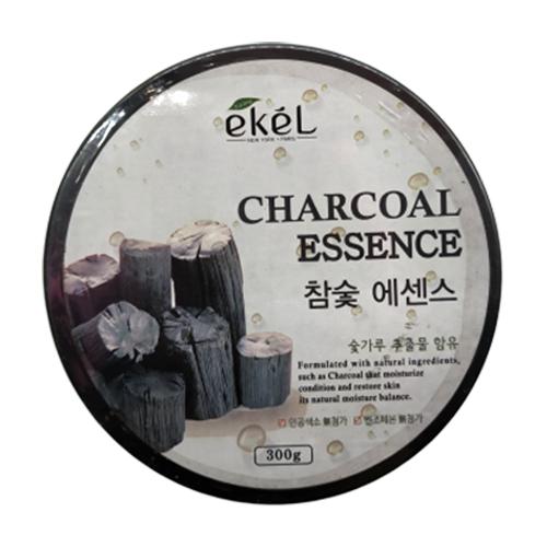 Гель для тела Ekel Charcoal Essence успокаивающий с экстрактом древесного угля, 300 г