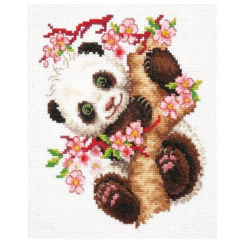 Купить Чудесная Игла Набор для вышивания Панда 15 х 18 см (19-26), Наборы для вышивания