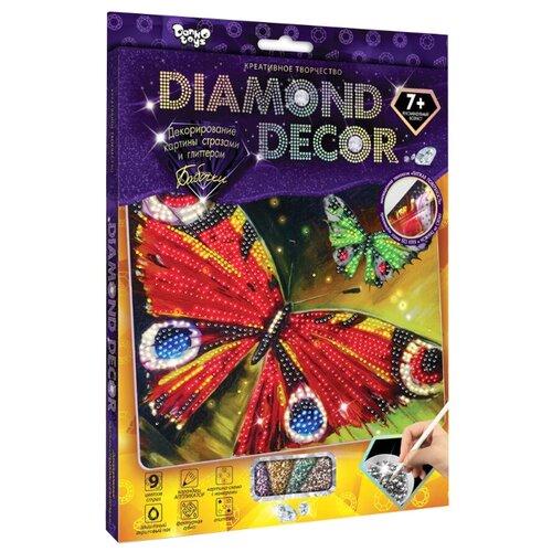 Купить Danko Toys Набор алмазной вышивки Diamond Decor Бабочка (DD-01-10), Алмазная вышивка
