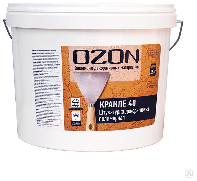 Декоративное покрытие OZON КРАКЛЕ 40