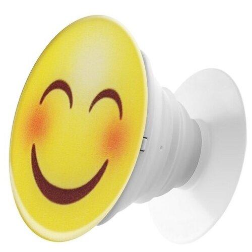 Krutoff / Пластмассовый держатель Krutoff для телефона Попсокет (popscoket) Смайлик (вид 1) держатель krutoff xpo17 17096