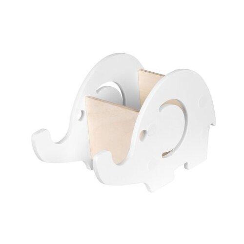 Подставка KETT-UP Умный Слоник, белый подставка под благовония слоник с каменной крошкой