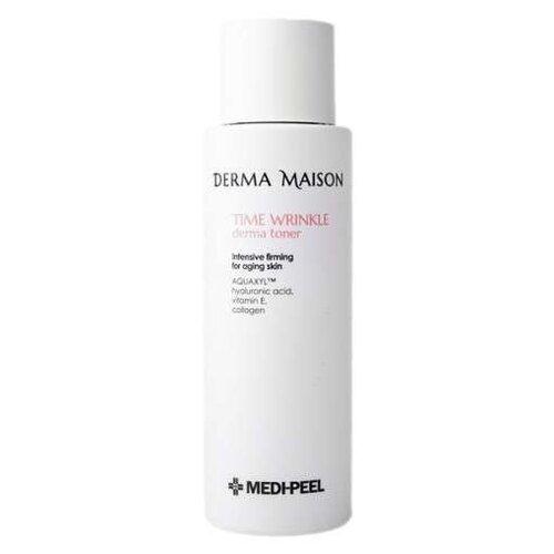 Тонер Medi-Peel Derma Maison time wrinkle с пептидами для лица 250 мл
