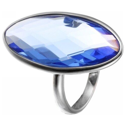 JV Кольцо с стеклом из серебра B3160-US-002-WG, размер 17.5 jv кольцо с стеклом из серебра b3160 us 008 wg размер 18