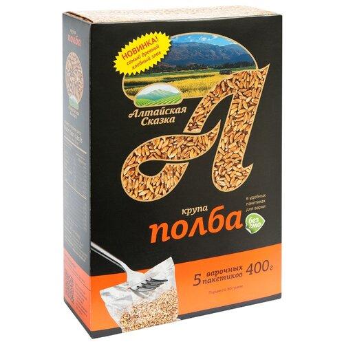 алтайская сказка смесь круп гречка рис в пакетах для варки 400 г 5х80 г Алтайская сказка Крупа полба 400 г