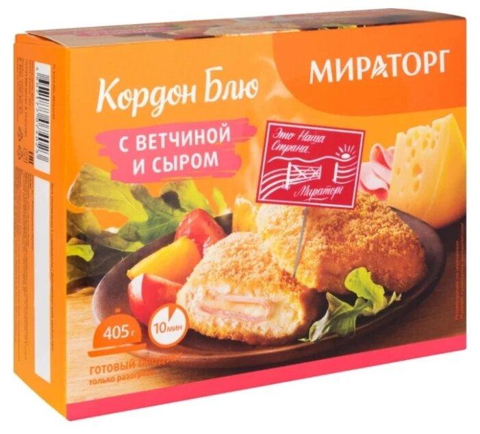 Мираторг Кордон блю с ветчиной и сыром 405 г