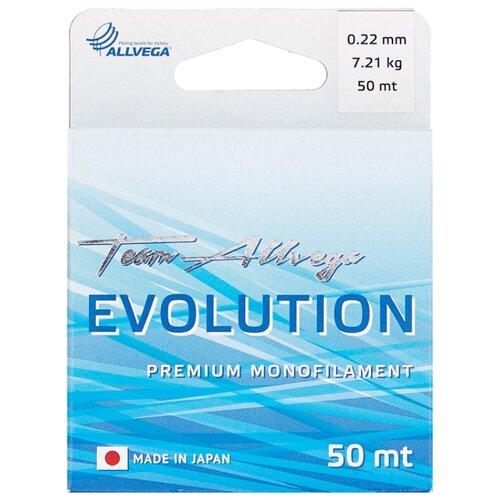 Монофильная леска ALLVEGA EVOLUTION прозрачный 0.22 мм 50 м 7.21 кг