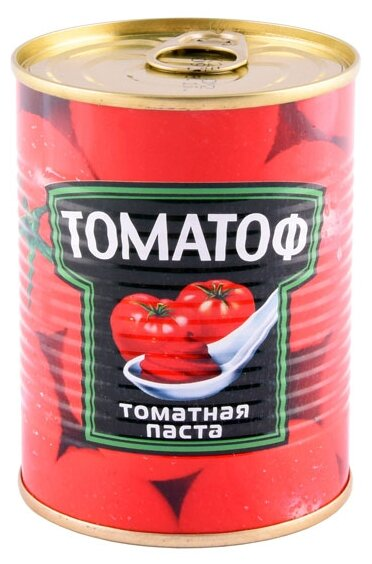 Томатоф Томатная паста, жестяная банка