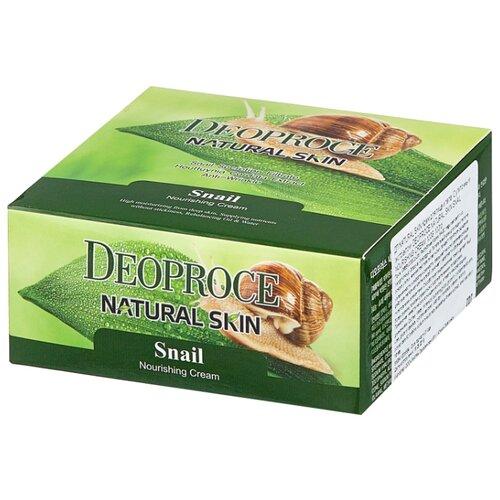Фото - Крем для тела Deoproce Natural Skin Snail Nourishing Cream, 100 г крем для тела deoproce natural skin olive nourishing cream 100 г