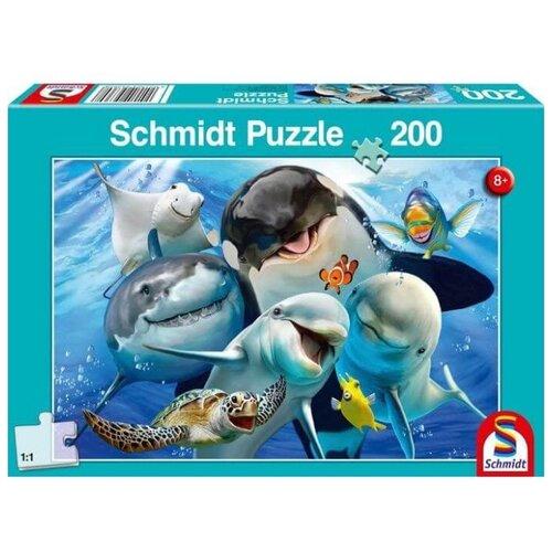 Фото - Пазл Schmidt Подводное селфи (56360), 200 дет. пазл schmidt цветочные сердца 58327 2000 дет