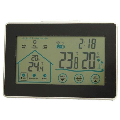 Метеостанция AiRTe WS-0317 черный / серый