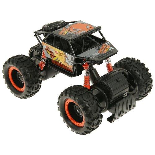 Купить Монстр-трак Hot Wheels Т14095 1:16 черный/оранжевый, Машинки и техника