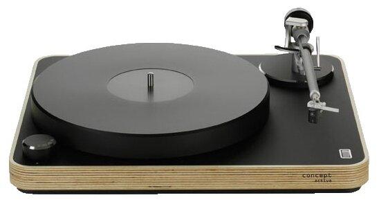 Виниловый проигрыватель Clearaudio Concept Active Wood MM