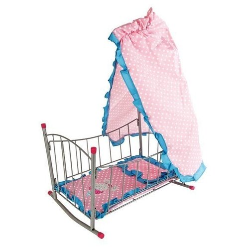 Фото - Mary Poppins Кроватка-качалка с балдахином Зайка (67314) розовый сумка бочонок mary poppins зайка 530035 пластик розовый голубой