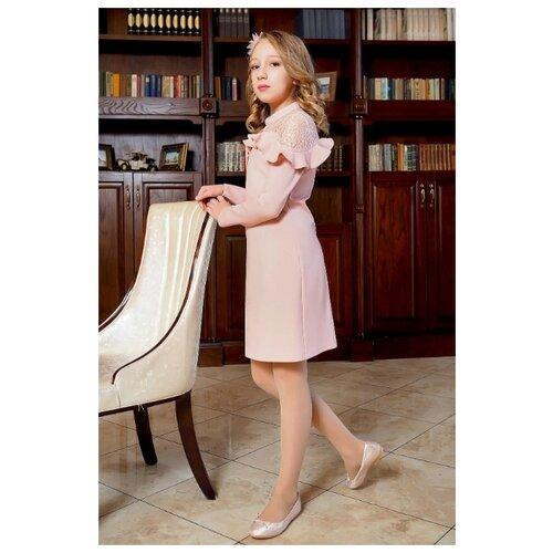 Купить Платье Ladetto размер 32-134, персиковый, Платья и сарафаны