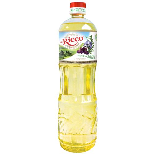цена Mr.Ricco Масло подсолнечное Прованские травы 1 л онлайн в 2017 году