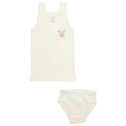 Купить Комплект нижнего белья RuZ Kids размер 140-146, молочный, Белье и купальники