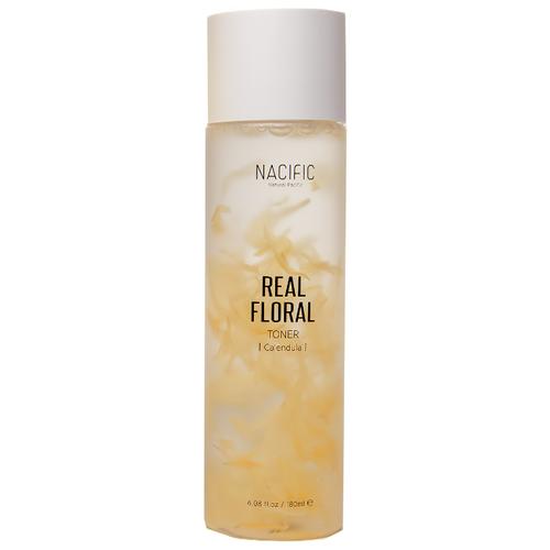 Купить NACIFIC Тонер для чувствительной кожи с лепестками календулы Real Floral Calendula, 180 мл