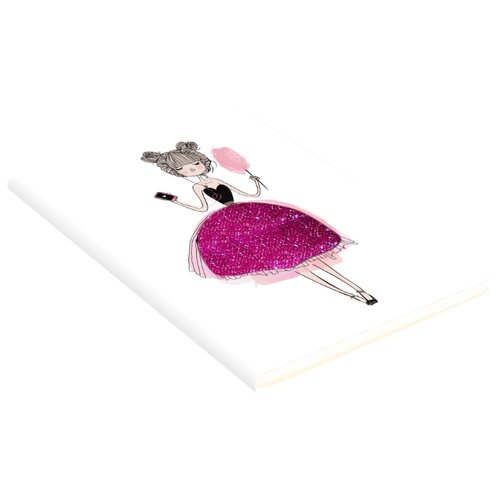 Купить Блокнот Канц-Эксмо Paper Art. GET GLITTER! В6, 80 листов (БГЛ6802977), Блокноты