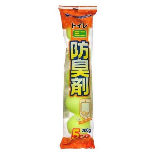 Kiyou Jochugiku шарики для писсуара дезодорирующие 0.2 кг 5 шт.