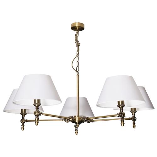 Люстра Arte Lamp Orlando A5620LM-5AB, E27, 300 Вт люстра arte lamp barbara a6066pl 5ab e27 300 вт