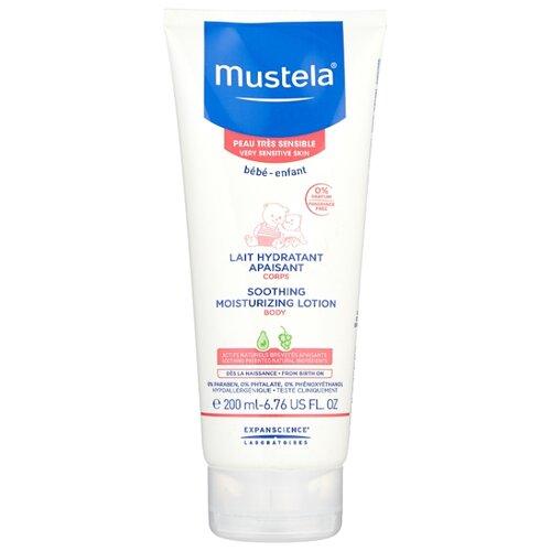 Купить Mustela Молочко для тела Hydra-Bebe увлажняющее успокаивающее, 200 мл, Уход за кожей