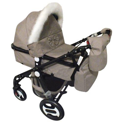 Коляска-трансформер Teknum 588 LY-M серый коляска трансформер combi i thruller 4w серый