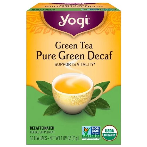 Чай зеленый Yogi Tea Pure green