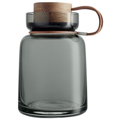 Eva Solo Банка для сыпучих продуктов Silhouette 700 мл серый/коричневый